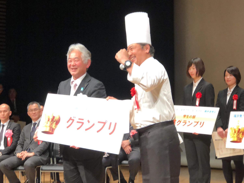 福井発ビジネスプランコンテスト「OKAMOCHI」グランプリ